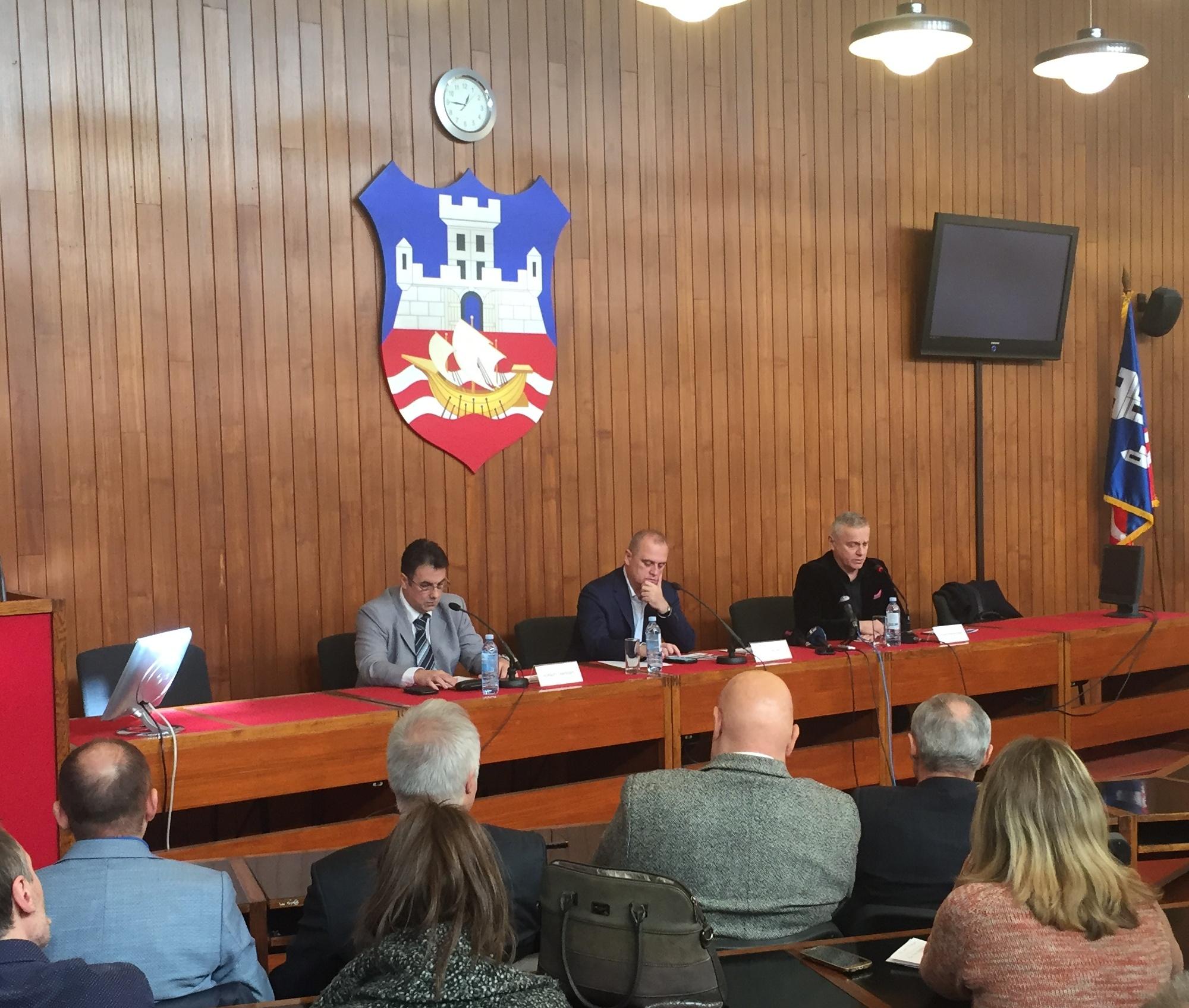 У Скупштини града Београда одржана презентација Студије Секретаријата за саобраћај