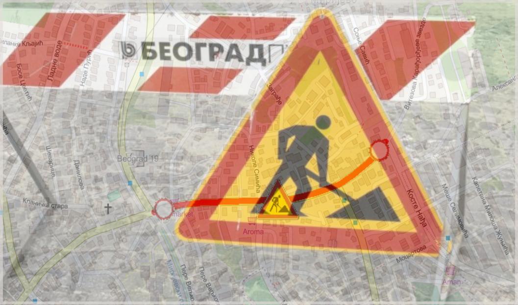 Наставак радова у улици Витезове Карађорђеве звезде