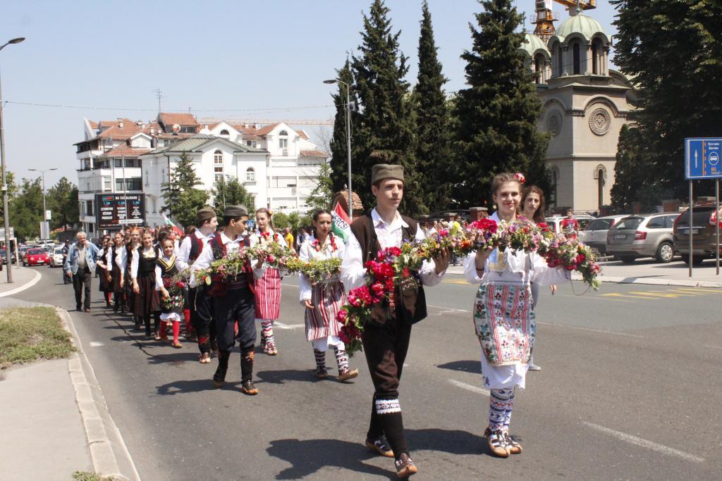 Одржавање литије поводом славе општине Чукарица - Духови