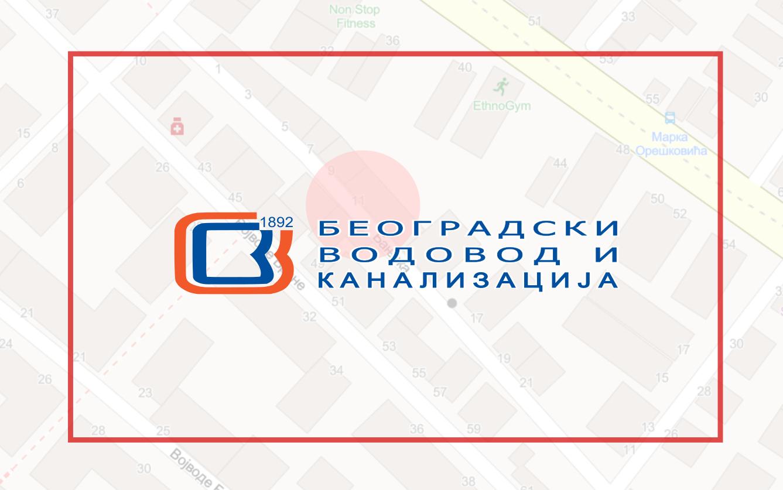 Затворена за саобраћај Бањска улица