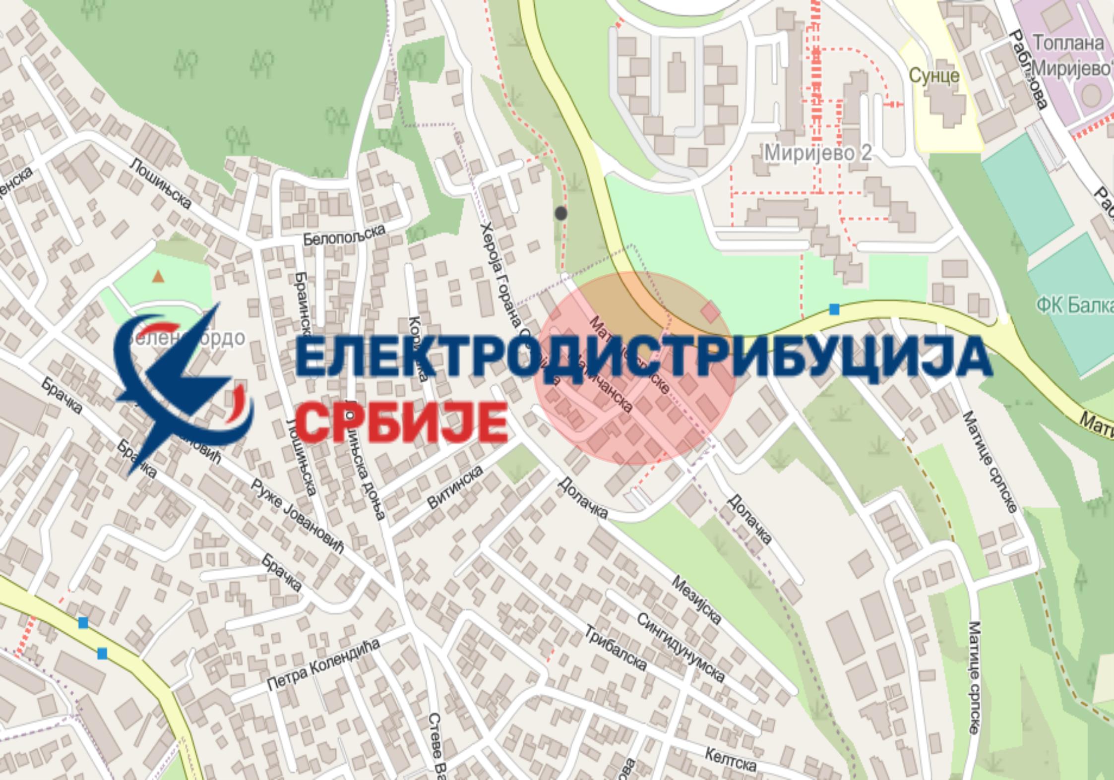 Радови под саобраћајем у улици Матичанској и Матице Српске