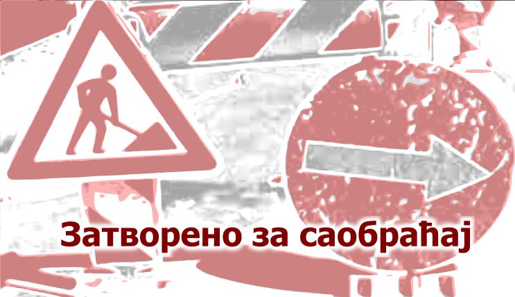 Црнотравска од Бахтијара Вагабзаде до Булевара ослобођења делимично затворена за саобраћај