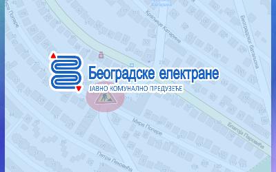Зарворена за саобраћај раскрсница Жарковачке и Мире Попаре