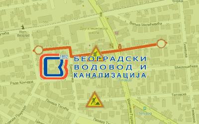 Затворена за саобраћај улице Беличка, Бањалучка и Евелин Хаверфилд