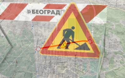 Затворена за саобраћај улица Љубице Луковић