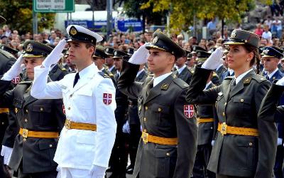 Промоција најмлађих официра Војске Србије