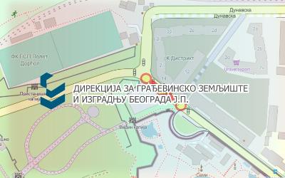 Затворена за саобраћај улица Булевар војводе Бојовића