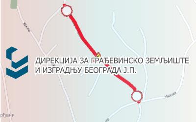 Затворена за саобраћај улица Светозара Марковића, ГО Гроцка