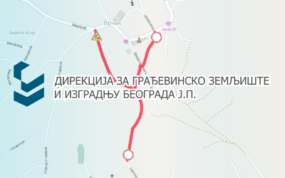 Затворене за саобраћај улице Светозара Марковића, 29. новембра, Облаковска у Врчину