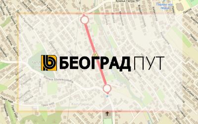 Затворена за саобраћај улица Војводе Степе Степановића