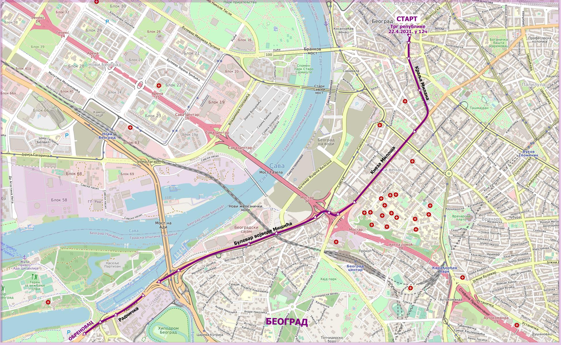 1. етапа Београд