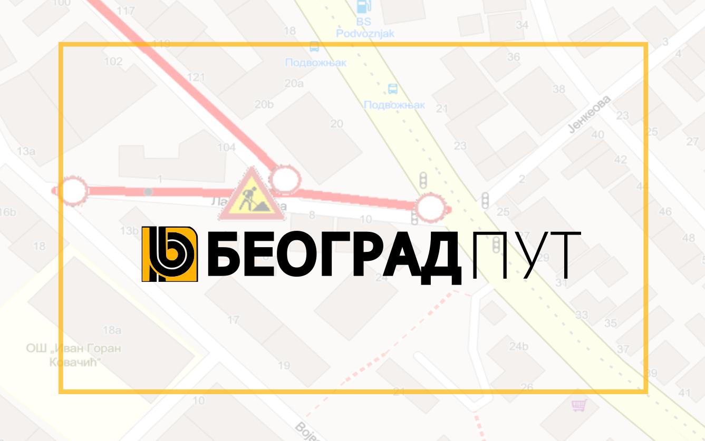 Наставак радова у улици Лазе Докић