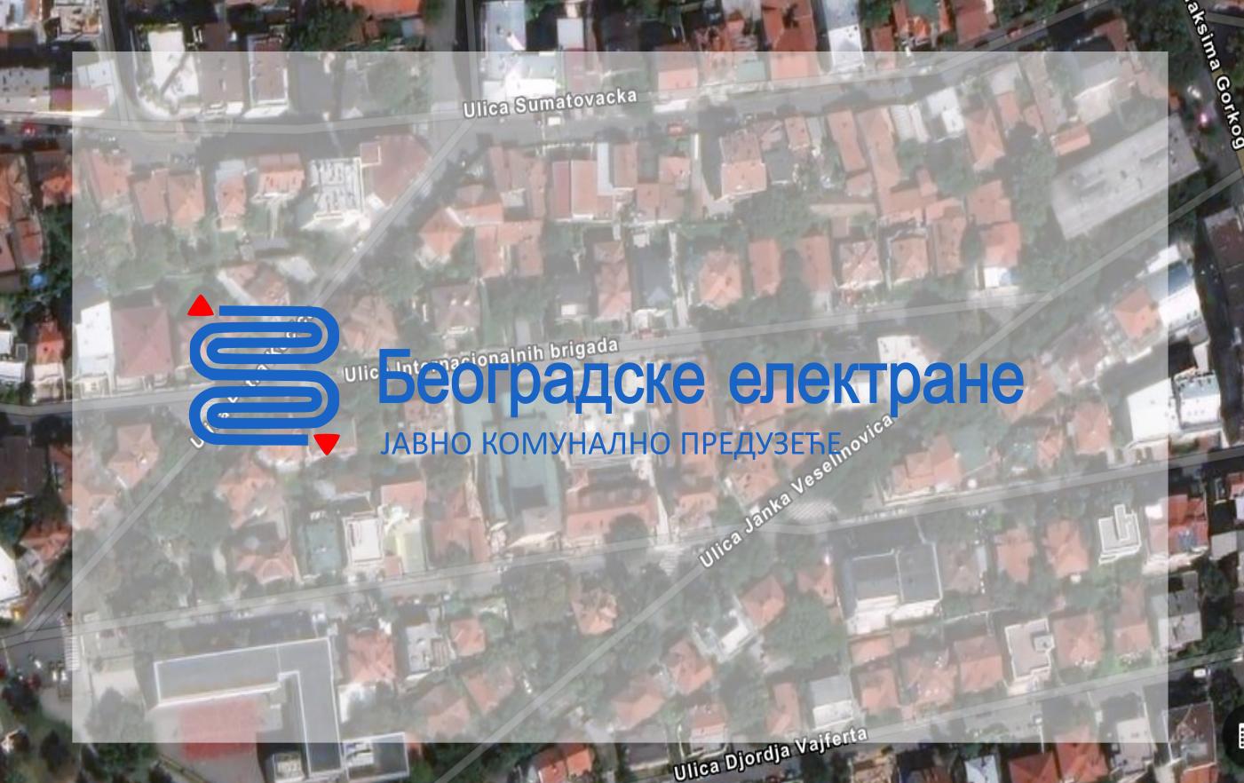 Затворена за саобраћај улица Интернационалних бригада