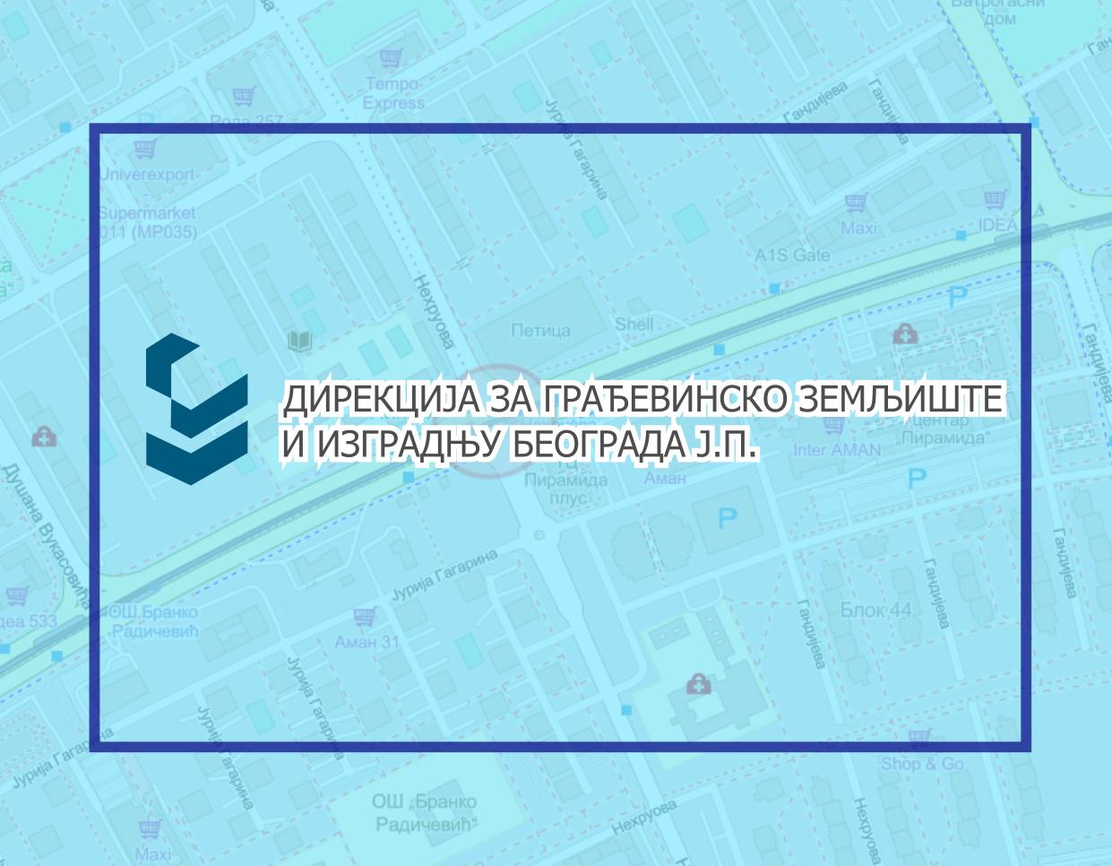 Радови под саобраћајем на раскрсници улица Јурија Гагарина и Нехруовој