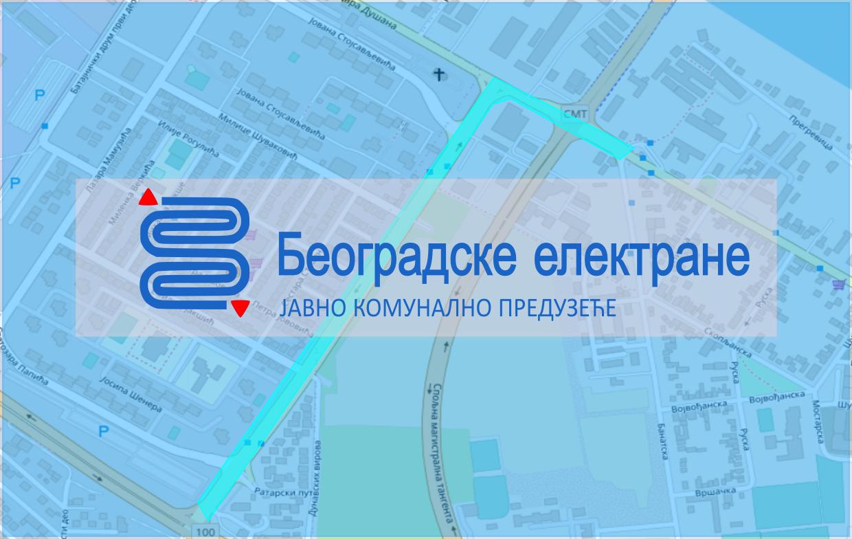 Измена режима саобраћаја у улицама Цара Душана, Батајничком друму, саобраћајницама Т6 и Т7