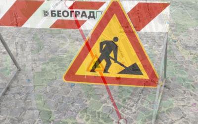 Улица Браће Јерковић затворена за саобраћај