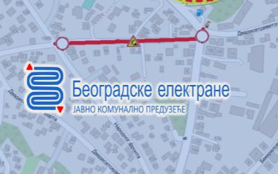 Улица 20. октобра затворена за саобраћај