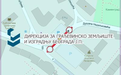 Затворена за саобраћај улица Душана Недељковића у Лазаревцу
