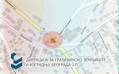 Радови под саобраћајем у Београдској ( Радета Станковића) и Булевару револуције